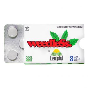 Weedless CBD Chewing Gum