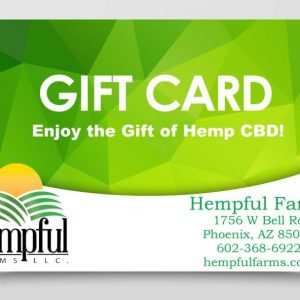 Hempful Farms Downloadable Gift Cards