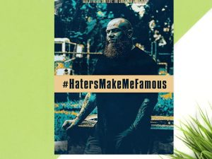 HatersMakeMeFamous DVD Signed by Chris Martin